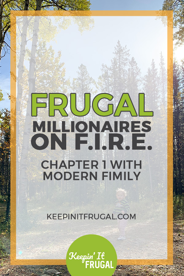 Image with the text Frugal Millionaires On FIRE