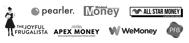 Logos where Keepin It Frugal has been featured.